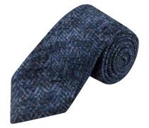 Krawatte im hochwertigen Wollmix von Luis Trenker in Dunkelblau für Herren