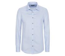 Aktuelles Trachtenhemd von Gloriette in Hellblau für Herren