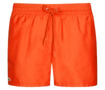 Badehose von Lacoste in Orange für Herren