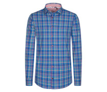 Bunt kariertes Freizeithemd, Regular Fit von Tom Made In Heaven in Blau für Herren