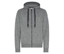 Hoody aus Stretch-Wolle