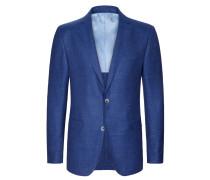 Sakko im Schurwollmix, Loro Piana von Tom Rusborg Premium in Blau für Herren