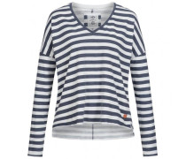 Longsleeve - V-NECK STRIPE