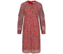 Mini-Kleid DOROTA aus Crinkle-Viskose