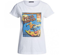 T-Shirt mit Print PIZZA SURFER