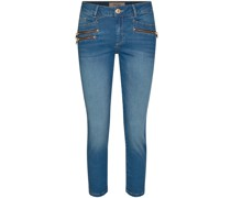 Jeans BERLIN mit Zipp-Details