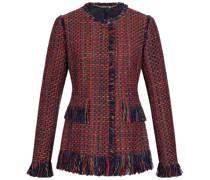 Tweed-Blazer POLLY mit Fransen-Details