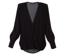 Georgette-Wickelbluse