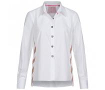 Oversized-Bluse mit Streifen-Details