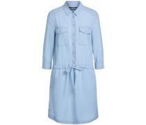 Hemdblusenkleid aus Lycell mit 3/4-Arm