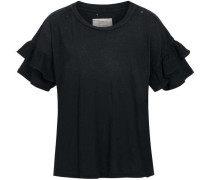 Blusenshirt - THE RUFFLE ROADIE TEE