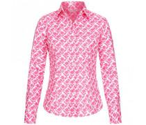 Bluse aus Baumwolle mit Blumen-Print