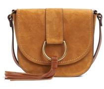 Saddle Bag CYRA aus Veloursleder