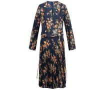 Kleid mit plissiertem Rockteil