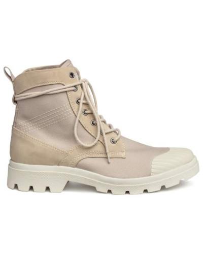 H&M Herren Boots mit dicker Sohle - Hellbeige Spielraum Spielraum Store Rabatt Neuesten Kollektionen dNcyLjTTt