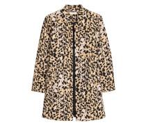 Kurzmantel - Leopardenmuster