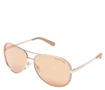 """Sonnenbrille """"MK 5004 Chelsea"""", rosegold-rosa, Piloten-Stil"""