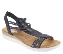 Sandalen, Strass, elastische Riemen