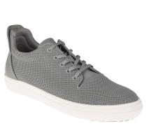 Sneaker, strukturiert, ledernes Wechselfußbett, Grau