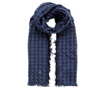 Schal, reine Baumwolle, Fransen, Web-Muster