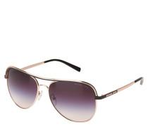 """Sonnebrille """"MK 1012 Vivianna I"""", Piloten-Stil, dopplter Steg"""