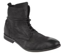 """Boots """"Swathmore"""", Nubukleder, Used-Look, Schwarz"""