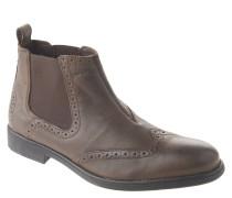 """Chelsea Boots """"Jaylon"""", Lyralochung, uni, Braun"""