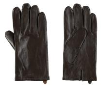 Lederhandschuhe, Woll-Futter, Schlitz