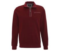 """Pullover """"Siro"""", Stehkragen, Brusttasche, halber Reißverschluss, Rot"""