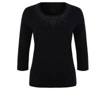 Shirt, 3/4-Ärmel, Nieten-Dekor, Baumwolle