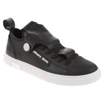 Sneaker, Leder, Zehenkappe