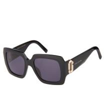 "Sonnenbrille ""MARC 179/S"", Karreé-Form, goldene Details"