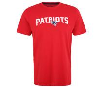 New England Patriots T-Shirt, Print, für Herren, Rot