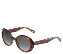 Sonnenbrille, Havanna-Stil, Tönung mit Verlauf