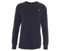 """Langarmshirt """"Jirgi"""", strukturiert, Logo-Print, Baumwolle, Blau"""