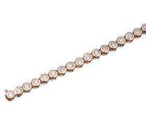 Armband Silber rosevergoldet mit Zirkonia