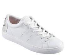Sneaker, Leder, Strass