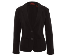 Blazer, Sweat, Ripp-Optik, uni