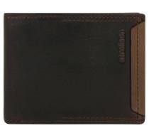 """Brieftasche """"Camden"""", Rindsleder, Münzfach, Braun"""