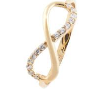 """Ring """"Infinity"""",mit Zirkonia-Besatz"""