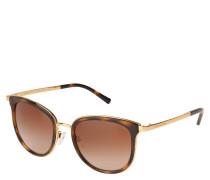 """Sonnenbrille """"MK 1010 Adrianna I"""", Havanna-Optik, schmale Bügel"""