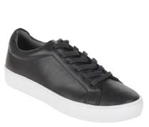 Sneaker low, Leder, Schnürung, kontrastreiche Sohle