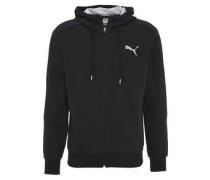 Sweatshirtjacke, Kapuze, Emblem