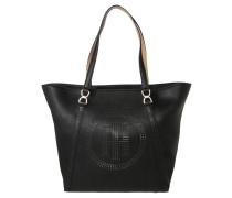 Shopper, herausnehmbare Innentasche, Schwarz