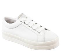 """Sneaker """"Cory"""", Leder, Plateau, Marken-Schriftzug"""