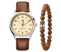 Set Herrenuhr und Armband 2770020