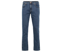 "Jeans ""Greensboro"", Regular Straight Fit, Emblem"