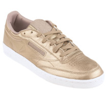 "Sneaker ""Club 85"", Leder, Zwischensohle, Gold"