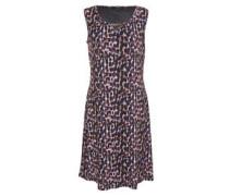 Kleid, ärmellos, Rundhals, Print