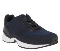 """Sneaker """"Velocity Runn"""", Strick-Optik, Leder, Gummisohle"""